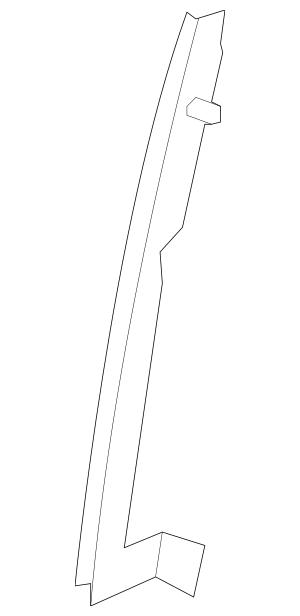 2009-2013 Honda FIT 5-DOOR Sash, R Rear Door (Lower) 72731