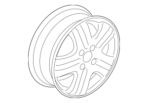 2008 Honda FIT 5-DOOR Disk, Wheel (14X5 1/2JJ) (TPMS