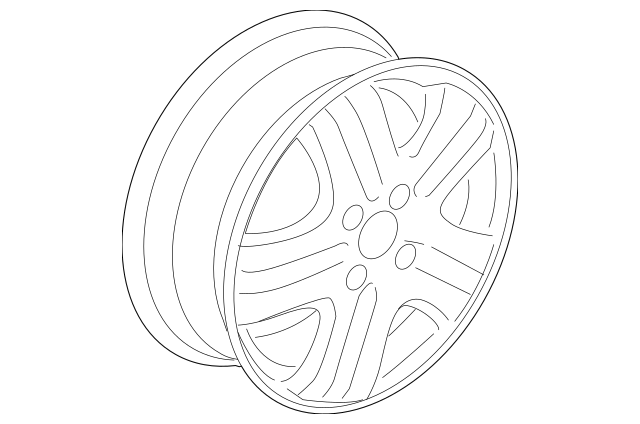 2008 Honda FIT 5-DOOR Disk, Aluminum Wheel (15X6J) (TPMS