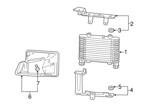 OEM RADIATOR & COMPONENTS for 2016 Cadillac CTS