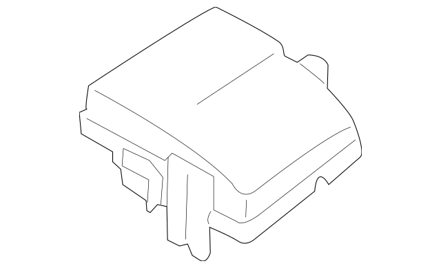 2011-2015 Hyundai Sonata Fuse Box Cover 91950-3S610