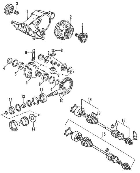 Propeller Shaft for 2003 Audi Allroad Quattro