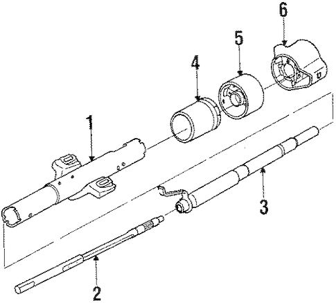 Chevy Tilt Steering Column Diagram Chevy Truck Steering
