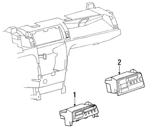 SOUND SYSTEM for 1995 Saturn SL2 (Base)