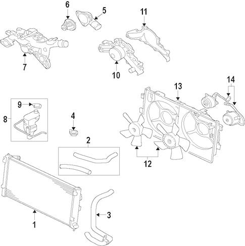 Mitsubishi L4 Engine Diagram Mazdaspeed 6 Engine Diagram