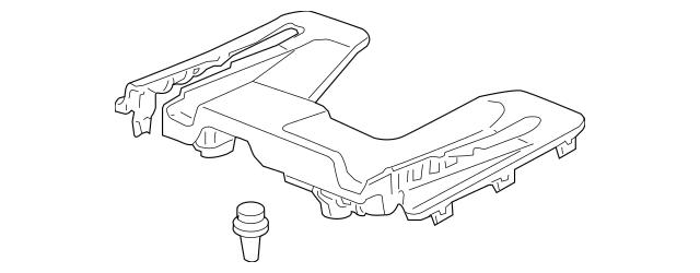 2009-2011 Honda ELEMENT 5-DOOR Cover, L Front Seat Foot