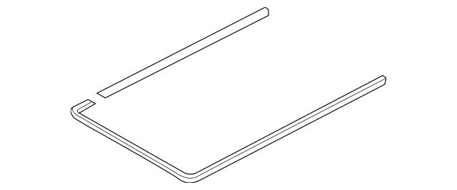 2009-2018 Audi Frame Assembly Inner Seal 8K9-877-439-A