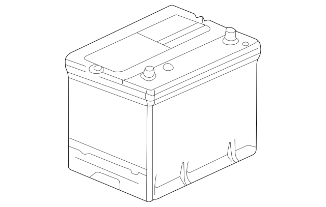 1998-2012 Honda Battery Assembly (70D23L-Mf) 31500-SL5