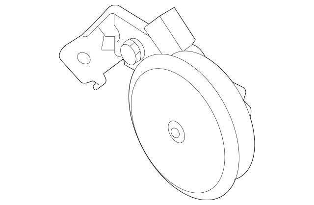 Buy this Genuine 2005-2010 Kia Sportage Horn 96630-1S001
