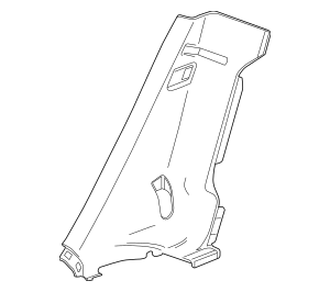 2012-2019 Chevrolet Sonic Lock Pillar Trim 95194154