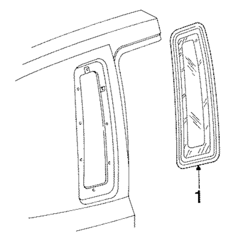 Glass & Hardware for 1994 Lincoln Town Car