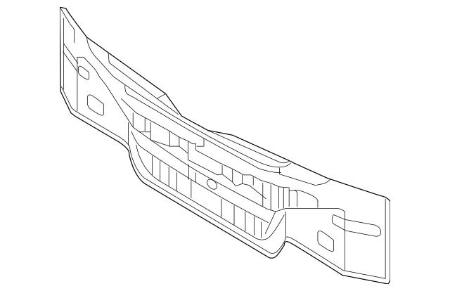Genuine OEM Rear Body Panel Part# 69100-2T000 Fits 2011