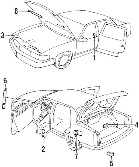 93 Cadillac Schaltplang