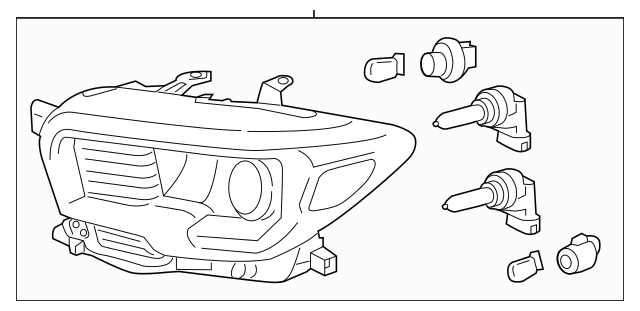 2016-2019 Toyota Tacoma Composite Assembly 81110-04280