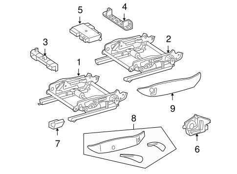 Tracks & Components for 2005 Mercedes-Benz SLK 55 AMG