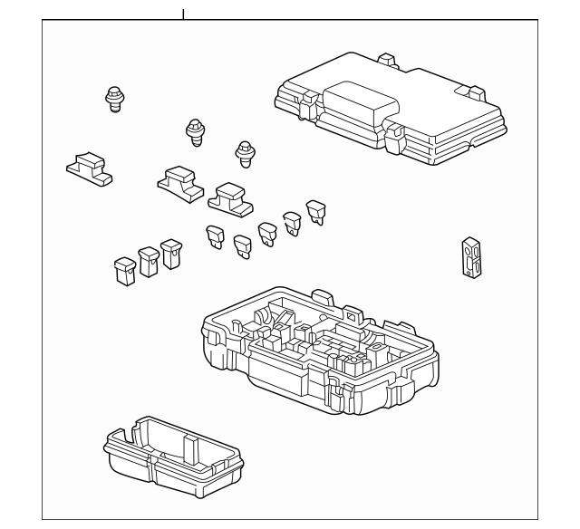 2009-2011 Honda ELEMENT 5-DOOR Box Assembly, Fuse 38200
