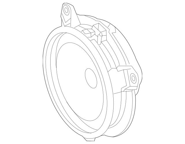 2014-2019 Toyota Highlander Door Speaker 86160-0R110