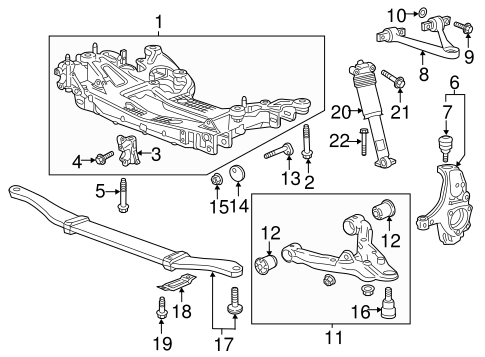 Suspension Components for 2016 Chevrolet Corvette