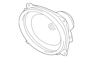 2007-2012 Mitsubishi Galant Rear Speaker 8720A055