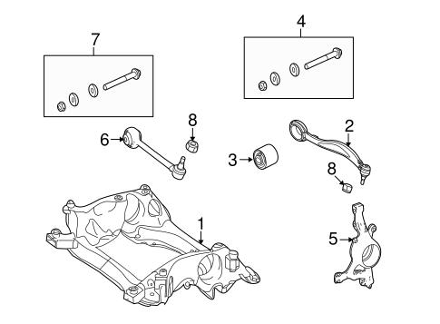 Suspension Components for 2010 Mercedes-Benz GLK 350