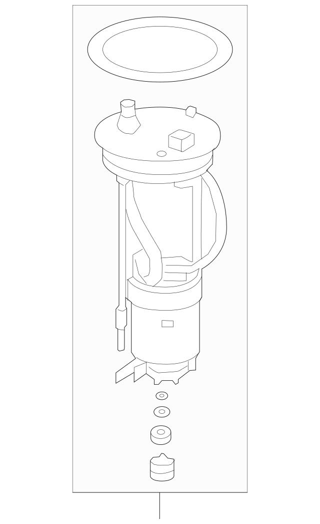 2018-2019 Honda CLARITY PLUG-IN SEDAN Filter Set, Fuel