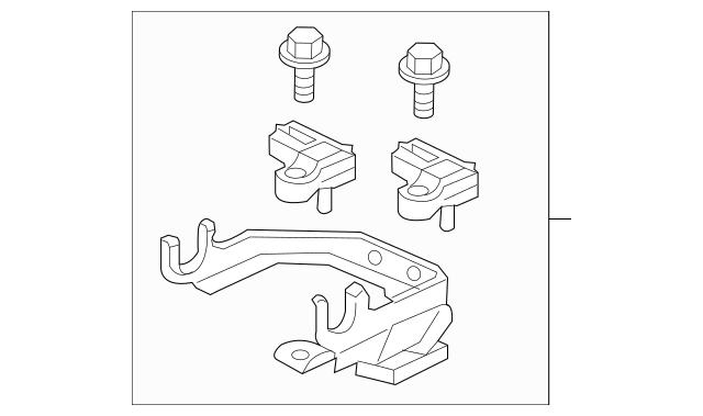 2011-2016 Honda CR-Z HATCHBACK Bracket, Master Power Tube