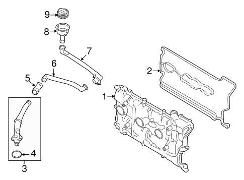 Cylinder Block Components for 2014 Porsche Cayman