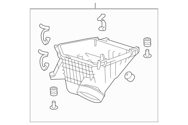 2013-2017 Honda Case Set, Air Cleaner 17201-5A2-A00