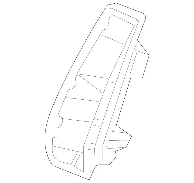 2008-2014 Mercedes-Benz C 63 AMG® Adapter Bracket 204-913