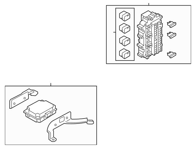OEM Infiniti Fuse & Relay Box For 2016-2020 Infiniti QX80