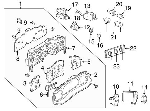 Instruments & Gauges for 2001 Ford Explorer Sport Trac