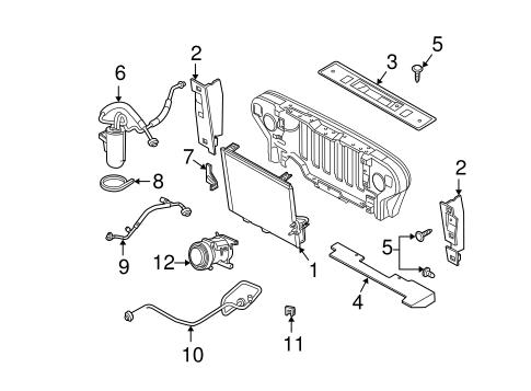 Condenser, Compressor & Lines for 2003 Jeep Wrangler