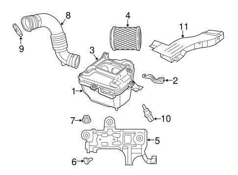 Air Intake Temp Sensor for 2010 Chrysler 300|4606487AB
