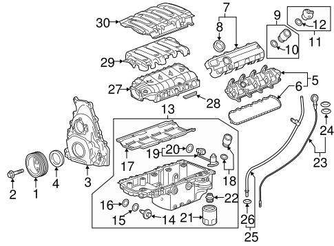 ENGINE PARTS for 2016 Chevrolet Camaro