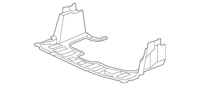 2007-2008 Honda FIT 5-DOOR Shield, Front Splash 74111-SLN