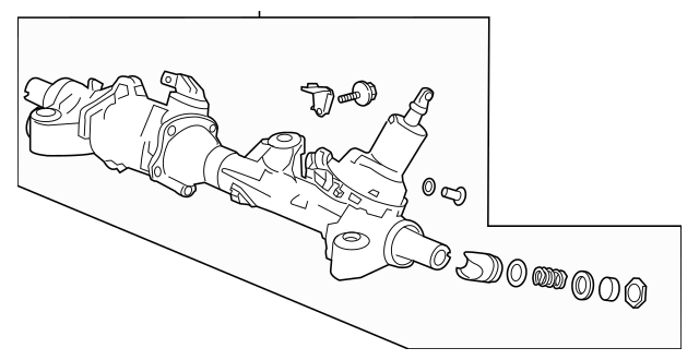 2013-2015 Honda ACCORD COUPE Box Sub, Power Steering Gear