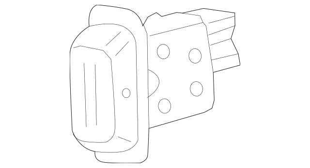 2005-2010 Honda ODYSSEY 5-DOOR Switch Assembly, R Heated