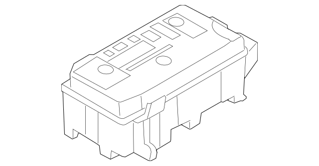 fuse relay box gm 25865467