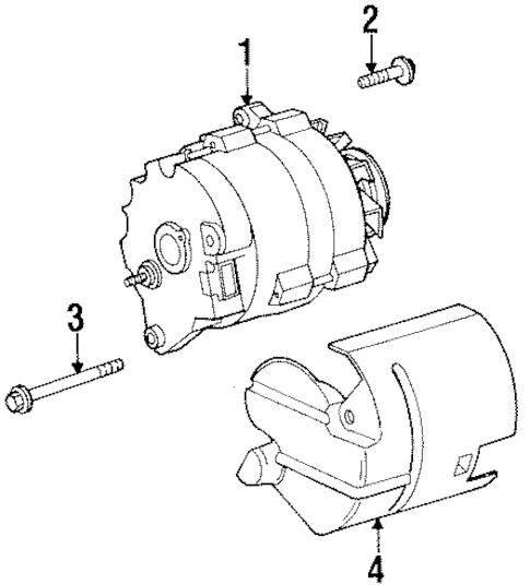 ALTERNATOR Parts for 2001 Saturn SL1