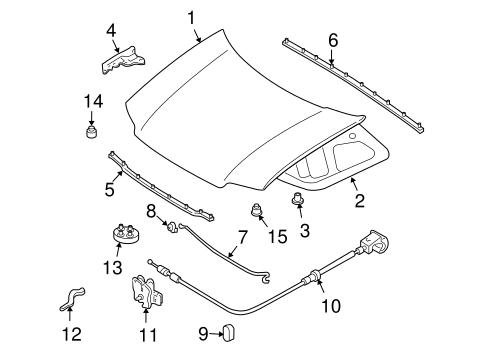 2007 Ford Escape Body Parts User Manual