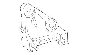 2018-2019 Toyota Camry Compressor Bracket 88431-0E010