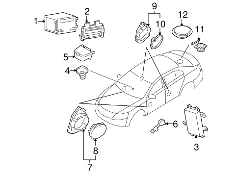 1965 Ford Mustang Front Suspension Diagram, 1965, Free