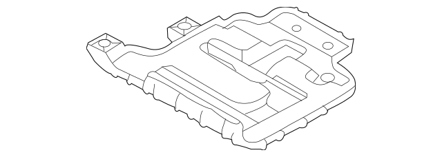 Buy this Genuine 2012-2013 Kia Soul Battery Tray 37150