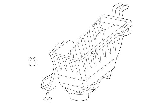 1998-2002 Honda Case Set, Air Cleaner 17244-P8C-A00