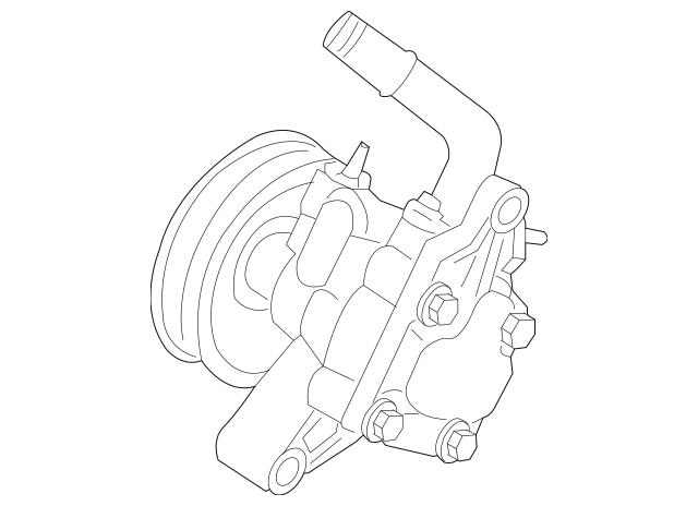 2004-2006 Kia Amanti Power Steering Pump 57100-3F001