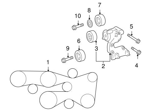 2007 Toyota Camry 3 5l Serpentine Belt Diagram