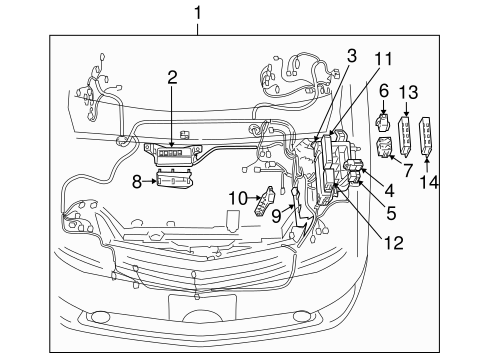 Genuine OEM Wiring Harness Parts for 2004 Toyota Prius
