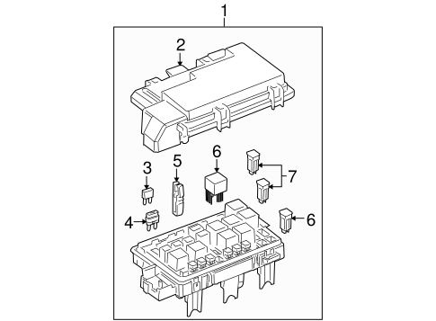 OEM Electrical Components for 2007 Buick Terraza