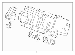 2016 Honda PILOT 5-DOOR Box Assembly, Fuse (Rewritable
