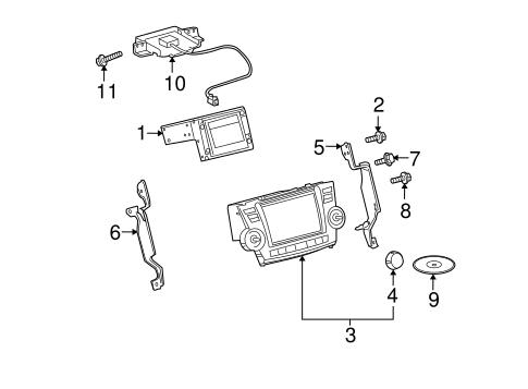 Genuine OEM Navigation System Parts for 2008 Toyota